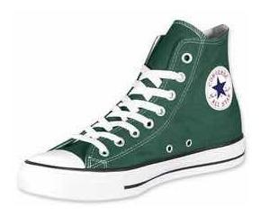 Botitas Converse All Star Verdes 100% Originales Unisex