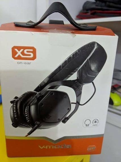 Fone Dj V-moda Crossfade Xs On Ear - Black Com 3d Shields