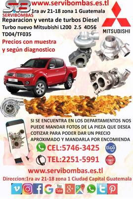 Reparación Y Venta De Turbos Mitsubishi L200 4d56 2.5,td04