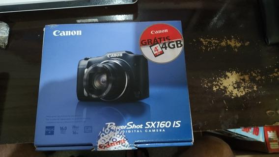 Câmera Digital Canon Powershot Sx160 Is Vermelha