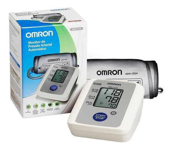 Aparelho Medidor De Pressão Digital Braço Hem-7113 Omron