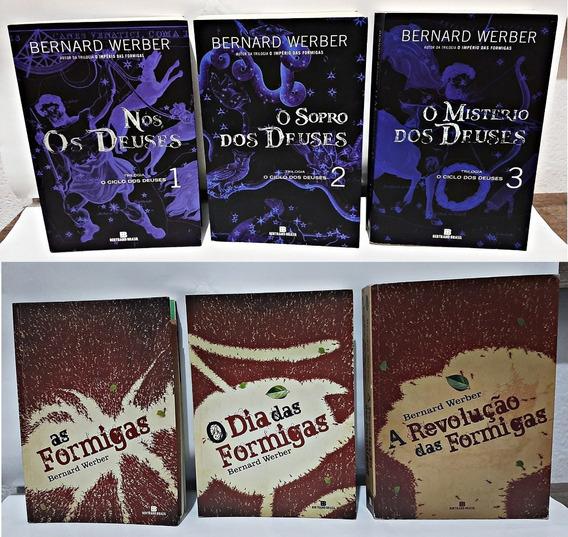 Livros Trilogia O Ciclo Dos Deuses + O Imperio Das Formigas