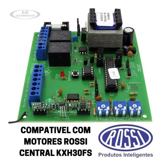 Central Comando Portão Rossi Kxh30 Sistema Hall Dz Nano
