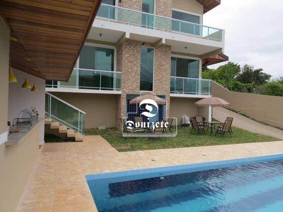 Sobrado Com 3 Dormitórios À Venda, 400 M² Por R$ 1.619.000,00 - Rio Claro - Paraibuna/sp - So2303