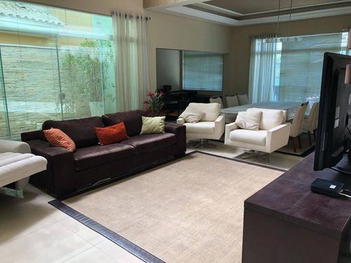 Casa 3 Suítes À Venda, 320 M² Por R$ 1.400.000 - Condomínio Lago Da Boa Vista - Sorocaba/sp - Ca1162