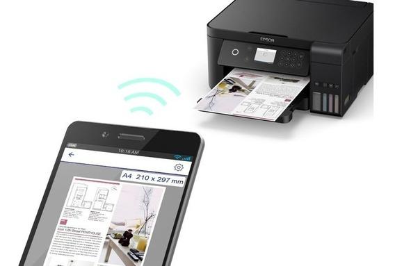 Multifuncional Epson L6161 Wifi Ecotank - Menor Custo Por Pg