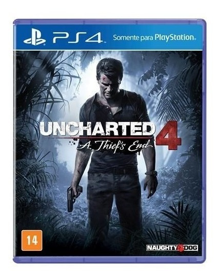 Jogo Uncharted 4: A Thief