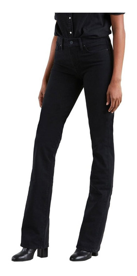 Calça Jeans Levis 315 Shaping Bootcut 4 Way Stretch Preto