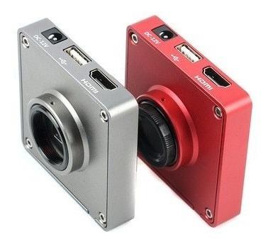 Câmera Microscópio Trinocular 37mp Sensor Panasonic Usb Hdmi