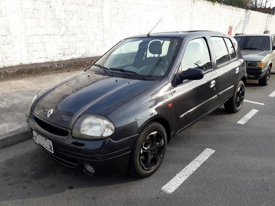 Renault Clio 1.0 Rt Hatch 4 Portas Completo Troco E Financio