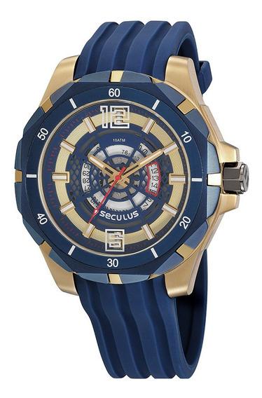 Relógio Seculus Masculino 20758gpsvli2