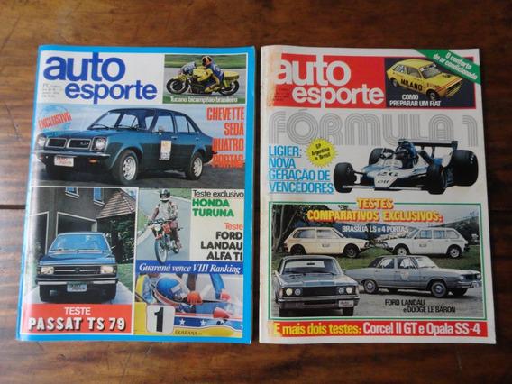 Revistas Auto Esporte 1979