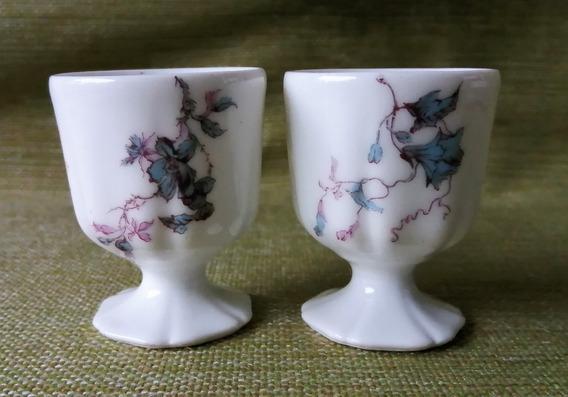 Par De Huevera En Porcelana Haviland & Co Limoges