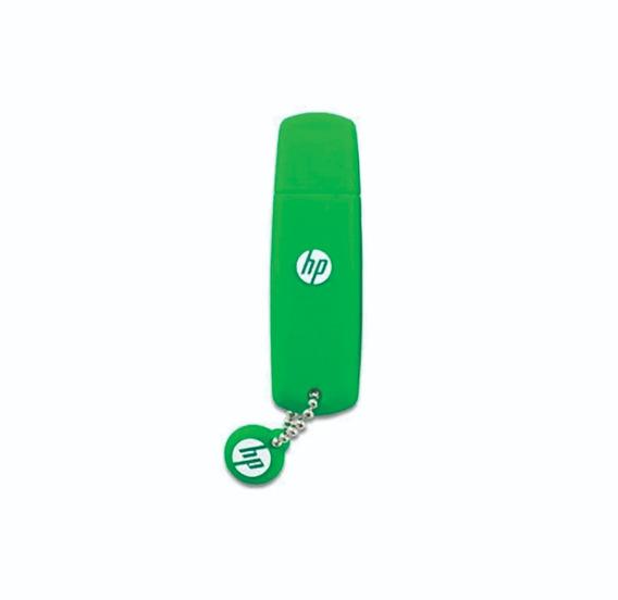 Hp Pen Drive 32gb V188 Verde Goma Hpfd