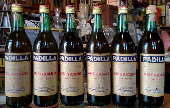 Botellas Antiguas Aperitivo Padilla Americano (las 6). 25923