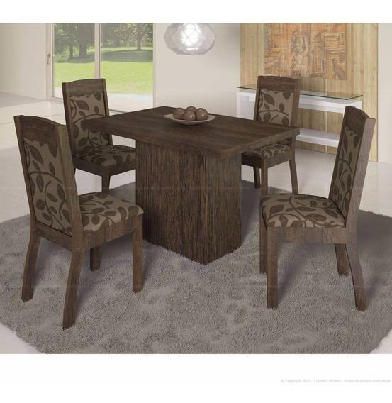 Mesa Adar 4 Cadeiras Diretamente De Fabrica