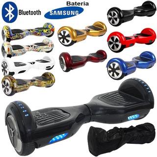Hoverboard Skate 6,5 Bat Samsung Bolsa Led Bluetooth Barato