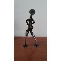 Estructura Figura Metalica Rana Trompetista