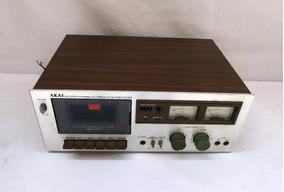 Tape Deck Akai Modelo Cs 703d - Cassette Stereo Deck Dolby