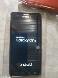 Celular Samsung Galaxy On5 Nuevo Forro Y Cristal