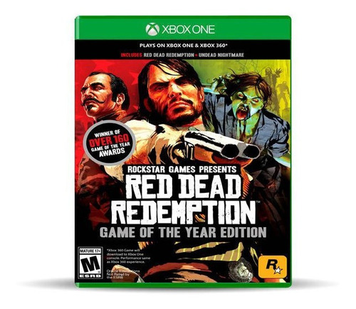 Red Dead Redemption Goy Xbox One/360 Físico, Macrotec
