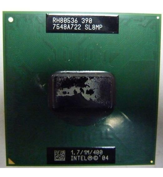 Processador Intel Celeron M 390 1.7 Ghz Sl8mp - Semi-novo