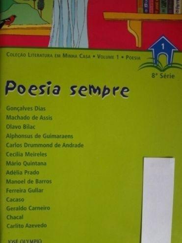 Livro Poesia Sempre Machado De Assis