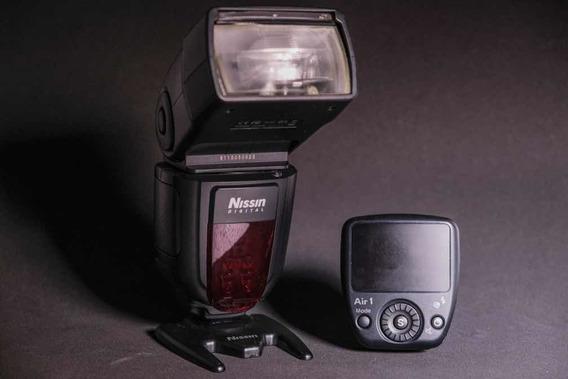 Flash Nissin Di700a Com Rádio Air 1 P/ Sony.