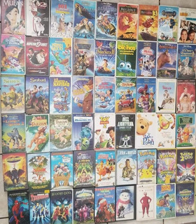 Películas Vhs Clásicas Disney/ Dreamworks/ Pixar