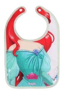 Babador Disney Baby Ariel Com Botão Baby Go 03339