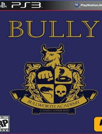 Bully Ps3 Jogo Play3 Buy ( Clássico Ps2 ) Comprar