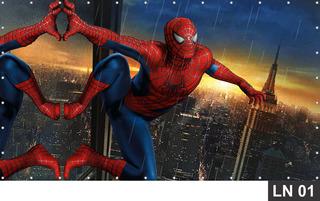 Paine De Festa Homem Aranha Spider Man 2,00x1,50m Lona