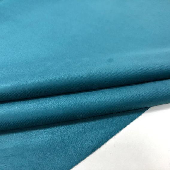 Tecido Liso Azul Turquesa Para Moveis, Decoração