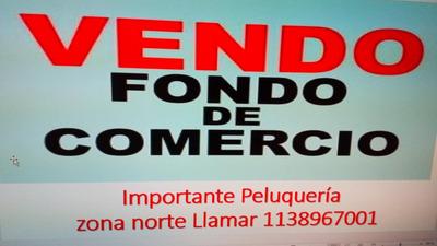 Fondo De Comercio Peluquería Del Viso Pilar En Panamericana