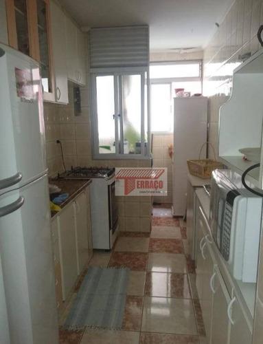Imagem 1 de 24 de Apartamento Com 3 Dormitórios À Venda, 68 M² Por R$ 275.000,00 - Jardim Do Estádio - Santo André/sp - Ap2818