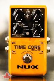 Pedal Nux Time Core Delay Deluxe - Nf E Garantia - Oficial