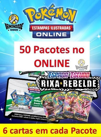 50 Códigos Online Boosters - Rixa Rebelde Tcgo