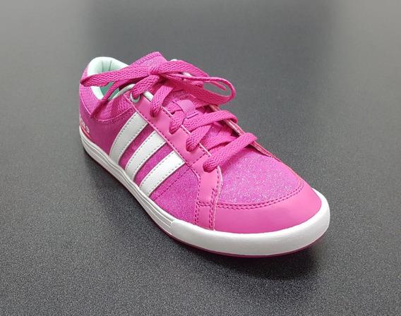 Tenis Fucsia/bco Para Dama, adidas, Mod. 143651-6446 No.24