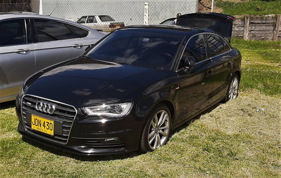 Audi A3 Sedan Negro 1.8 Turbo Hermoso