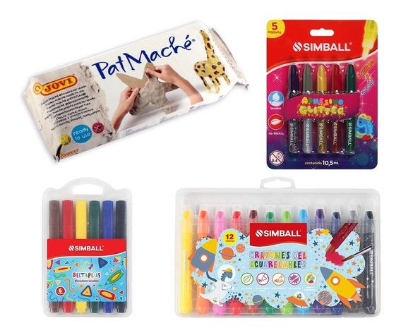 Kit 24 Productos Papel Maché Jovi Y Simball Tienda Oficial