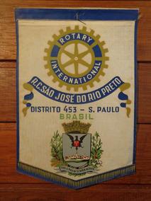 Antiga Flâmula Rotary São José Do Rio Preto - F0264
