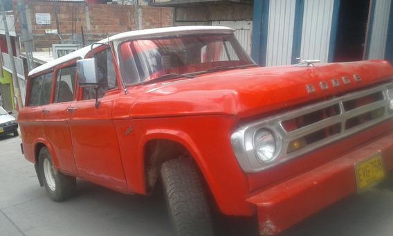 Dodge D 100 Brasilera 12 Pasajer