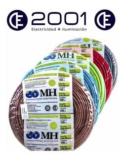 Cable Unipolar 1x6mm2 Cobre Rollo X 100mts Mh Varios Colores