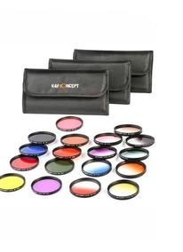 Kit Filtros Coloridos 52mm Canon Nikon Tipo Hoya Original