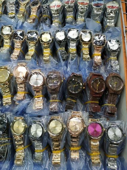 Relógio -kit Com 15 Relógios Femininos Atacado Para Revenda