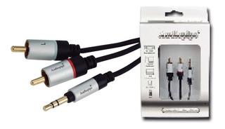 Sgm1 Audiopipe Cable Plug 3,5 A Rca 180cm