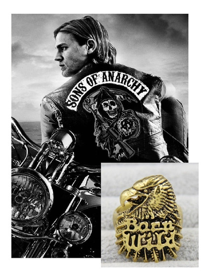 Anillo Sons Of Anarchy Hijos De La Anarquia Aguila