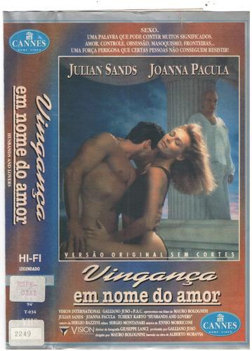 Vhs Vinganca Em Nome Do Amor /original