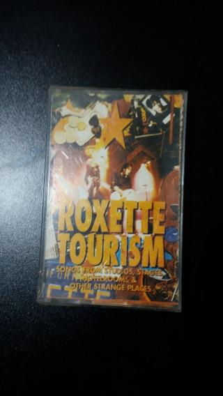 Fita K7 Cassete Roxette-tourism / 1992 / Com Encarte