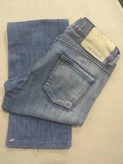 P04 Jean Semi Oxford Materia Estado Impecable